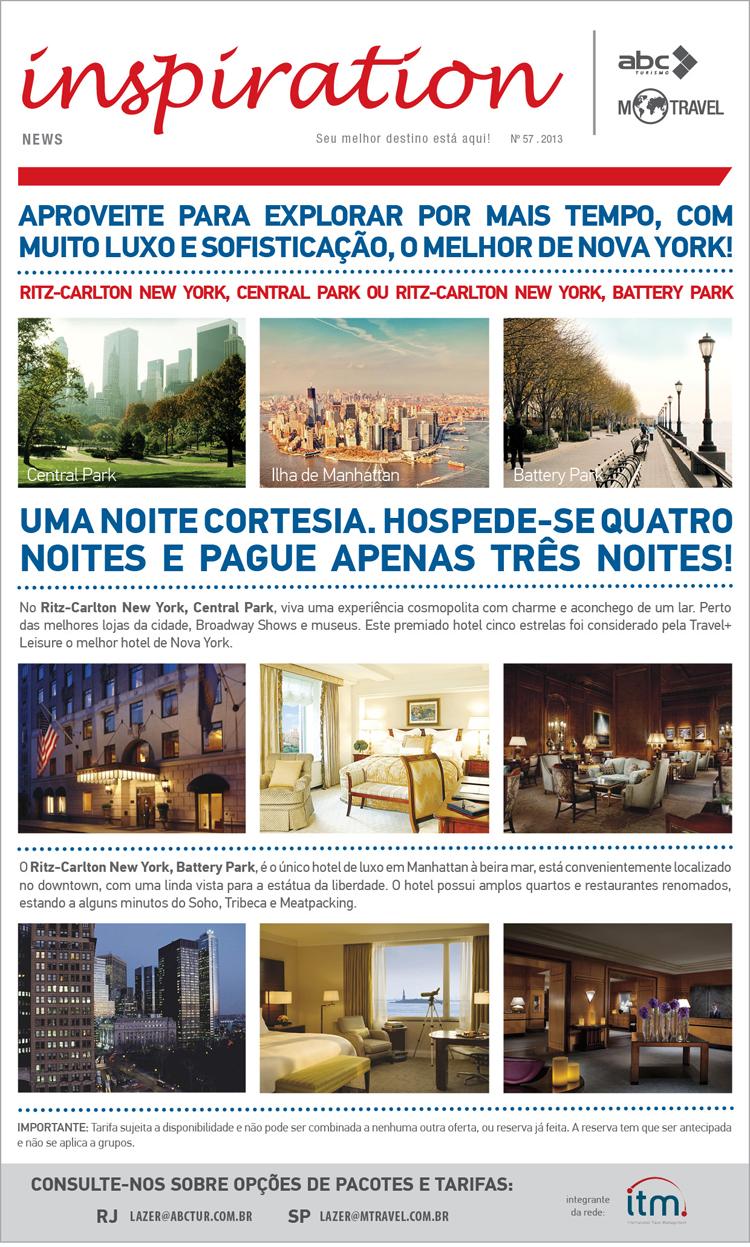 Noite Cortesia - Ritz Carlton